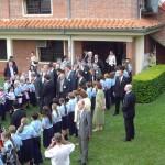 Besuch von Horst Koehler in der Schule