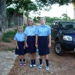 In Gala-Schuluniform
