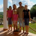 Janine, Anne, Lothar, Michelle und Lilly