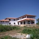 Rohbau-Wohnhaus