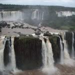 Die beeindruckenden Iguazu-Wasserfälle