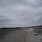 Salzlagune im Naturreservat