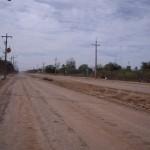 Straße in Loma Plata
