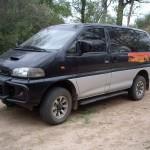 Unser Mbuni-Reisebus