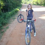 Fahrradtour mit Lilly