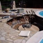Zuschneiden der Rohre für Whirlpool
