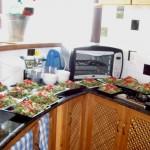 Vorbereitete Salate