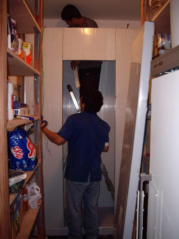 Aufbau Kühlkammer