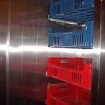 Innenleben Kühlkammer