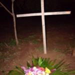 Grab von Hundewelpe Anna
