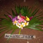 Grabdekoration für Hündchen Anna