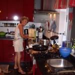 Allabendlicher Küchenputz