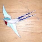 ... ergibt es  einen schönen bunten Vogel