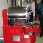 Röstmaschine für Haselnüsse
