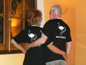 Henry und Inge von hinten