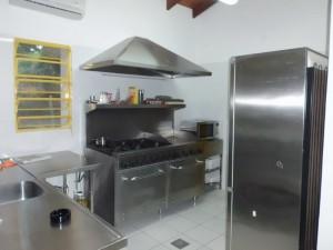 Blick in Restaurantküche